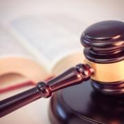 Gavel & Open Law Book