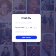 Screenshot of Match.com