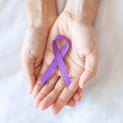 Domestic Violence PURPLE Ribbon