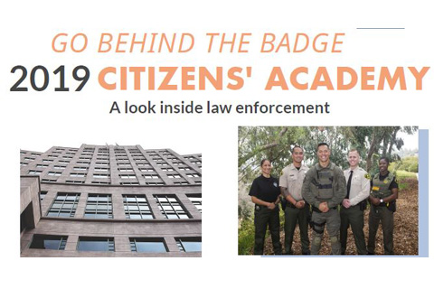 An Inside Look Into the Criminal Justice System: Citizens' Academy