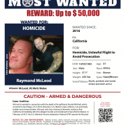 Poster of US Marshals Most Wanter: RJ McLeod