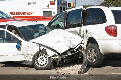 Auto Accident Auto Insurance Fraud FILE PHOTO